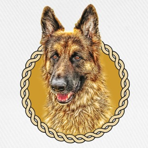 German Shepherd (Alsation) 001 - Baseball Cap
