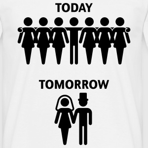 Today - Tomorrow (Junggesellenabschied / Stag Night) T-Shirt - Männer T-Shirt