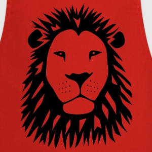 lion tiger cat king animal kingdom africa predator simba strong hunter safari wild wildcat bobcat panther cougar  Aprons - Cooking Apron