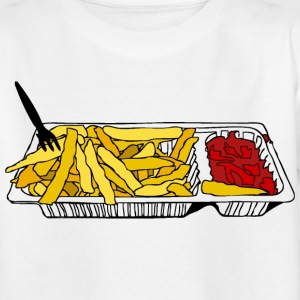 Belgian Fries Kinder shirts - Teenager T-shirt