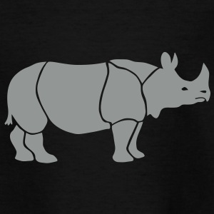 neushoorn rinoceros Kinder shirts - Teenager T-shirt