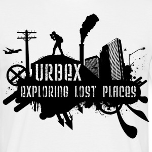 Exploring Lost Places Black T-Shirts - Männer T-Shirt
