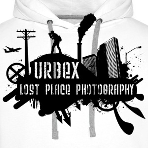Urbex T-Shirt: Lost Place Photography Black Pullover - Männer Premium Hoodie
