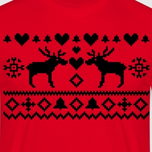 Christmas Embroidery T-Shirts - Men's T-Shirt
