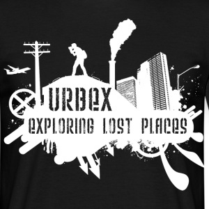 Exploring Lost Places White T-Shirts - Männer T-Shirt