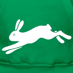 rabbit bunny hare ears easter cute puss prey Hoodies & Sweatshirts