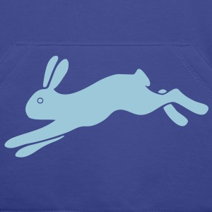 rabbit bunny hare ears easter cute puss prey Hoodies & Sweatshirts - Men's Premium Hoodie