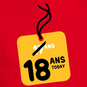 17 past 18 ans today etiquette Tee shirts - T-shirt Homme