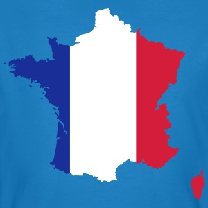 Map of France 4 (Vector) - Men's Organic T-shirt
