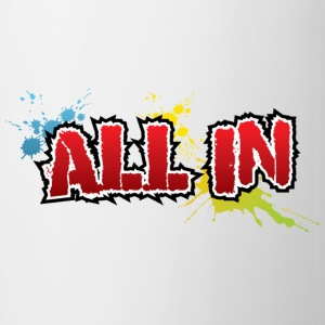 All In Graffiti Mug - Mug