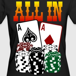 ALL IN T-Shirts - Frauen Bio-T-Shirt