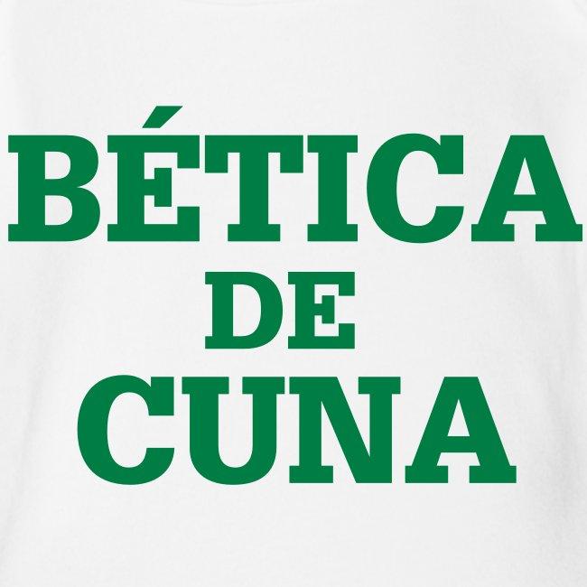 """Body Bebé """"BÉTICA de Cuna"""""""