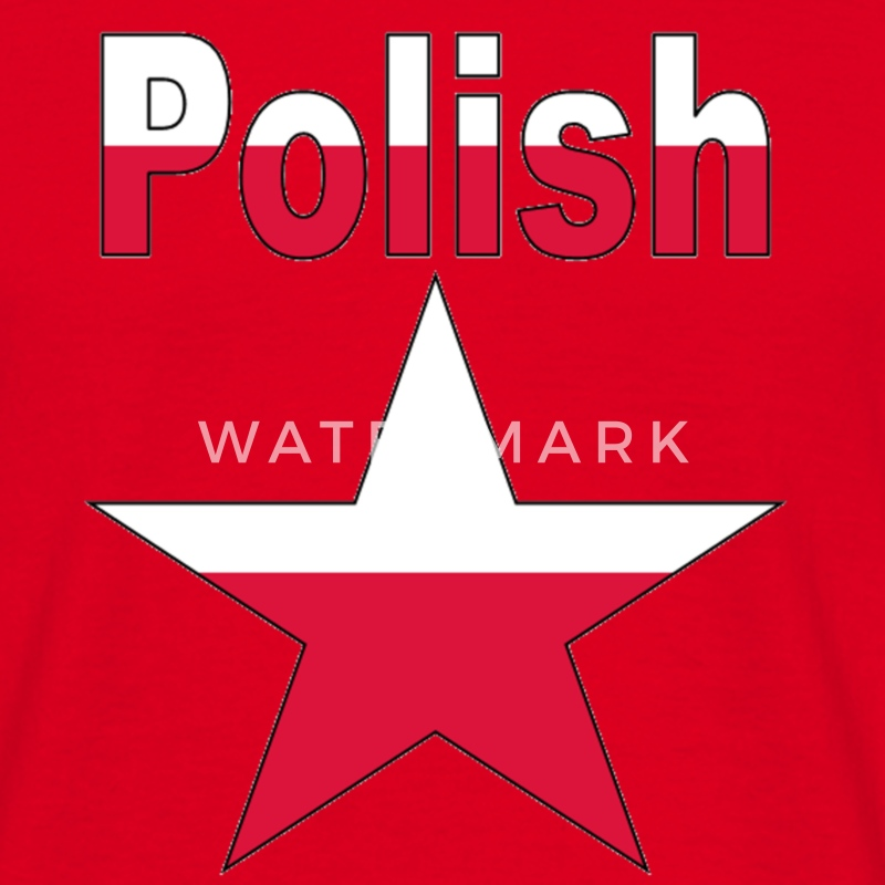 Polish Star Men's T-Shirt - Men's T-Shirt