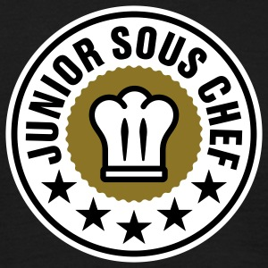 Junior Sous Chef | Küchenchef | Chef Cook T-Shirts - T-shirt herr