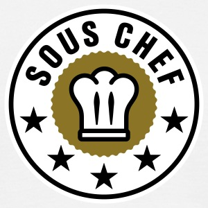 Sous Chef | Küchenchef | Chef Cook T-Shirts - Mannen T-shirt