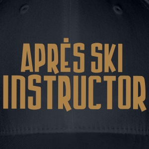 apres ski instructor - Flexfit Baseballkappe