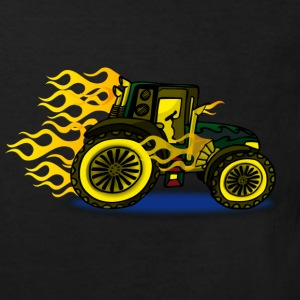 Hot Rod Traktor - Kinder Bio-T-Shirt