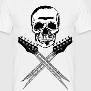 Skull Guitars 001 T-Shirts - Men's T-Shirt