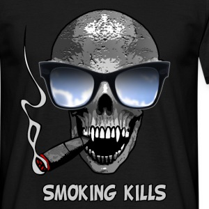 smoking kills Tee shirts - T-shirt Homme