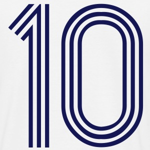 10, best football, fußball, football, soccer, sports, Zahlen, Ziffern, Numbers, Rennen, Race, www.eushirt.com - T-shirt Homme