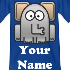 Child T-shirt NellyThe Elephant - Teenage T-shirt