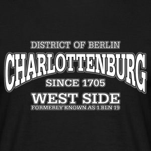 Charlottenburg Berlin West Side (white) - Männer T-Shirt
