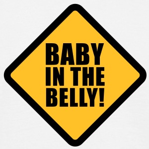 Baby in the belly T-Shirts - Mannen T-shirt