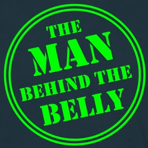 MAN BEHIND THE BELLY T-Shirt AN - Men's T-Shirt