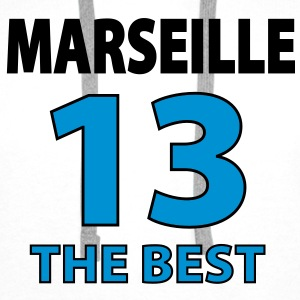 marseille_the_best Sweat-shirts - Sweat-shirt à capuche Premium pour hommes