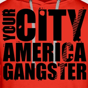 your city america gangster Pullover & Hoodies - Männer Premium Hoodie