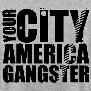 your city america gangster Sweaters - Mannen sweater