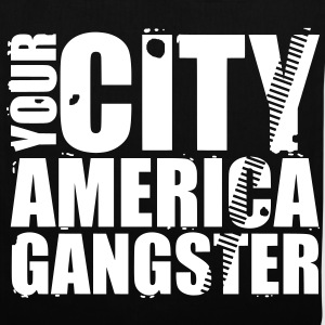 your city america gangster Torby - Torba materiałowa