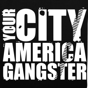 your city america gangster Tassen - Tas van stof