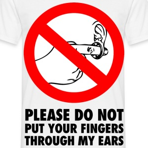 FINGERS THROUGH MY EARS Tee shirts - T-shirt Homme