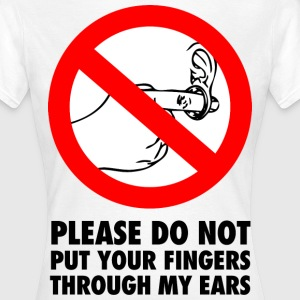 FINGERS THROUGH MY EARS Tee shirts - T-shirt Femme