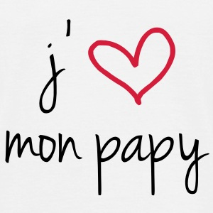 J'aime mon papy Tee shirts - T-shirt Homme