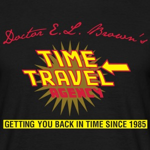 Doc Brown's Time Travel Agency - Männer T-Shirt