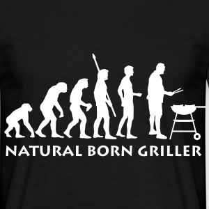natural_born_griller Tee shirts - T-shirt Homme