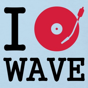 I dj / play / listen to wave :-: - Camiseta ecológica niño