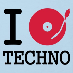 I dj / play / listen to techno :-: - Ekologisk T-shirt barn