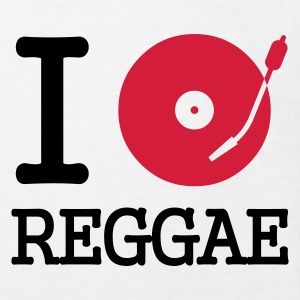 I dj / play / listen to reggae :-: - Kinder Bio-T-Shirt