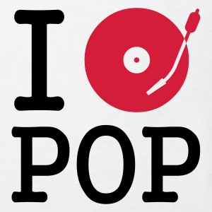 I dj / play / listen to pop :-: - Organic børne shirt