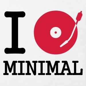 I dj / play / listen to minimal :-: - Økologisk T-skjorte for barn
