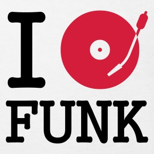 I dj / play / listen to funk :-: - Ekologisk T-shirt barn