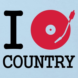 I dj / play / listen to country :-: - Økologisk T-skjorte for barn
