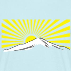 Mt. Fuji rising sun Japan T-shirt T-shirt T-Shirts - Men's T-Shirt