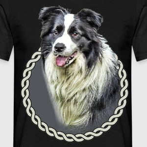 Border Collie 001 T-Shirts - Men's T-Shirt