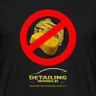 Design ~ Detailing World 'No Sponge or Leathers' T-Shirt