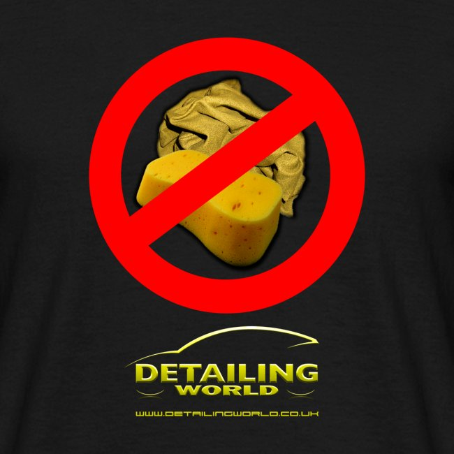 Detailing World 'No Sponge or Leathers' T-Shirt