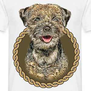 Border Terrier 001 T-Shirts - Men's T-Shirt